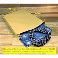 Paper Bag Coklat Polos 25x7x44 /Kantong Kertas Coklat /Baju /Lukisan