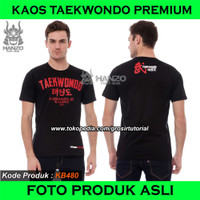 Kaos Taekwondo, Baju TKD, T Shirt Tae Kwon Do KB261