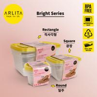 ARLITA BRIGHT SERIES |PLASTIC CONTAINER RECTANGLE