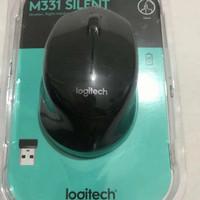 habisin stok!!! mouse wireless m331 silent-hitam - Hitam