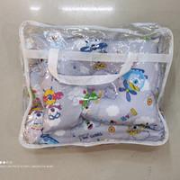 Bantal bayi set isi 3 anti peang/Bantal dan guling bayi dacron silikon
