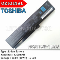 Baterai Original Laptop Toshiba Satelite L675 L675D L735 L740 L745
