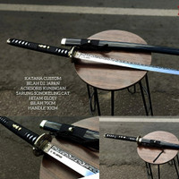 Katana Special Edition dan termewah Baja D2 Japan