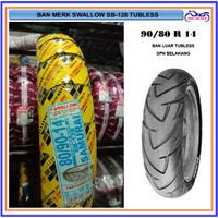 Ban Luar Depan Tubeless Swallow 80/90-14 SB-128 Samurai Motor Matic