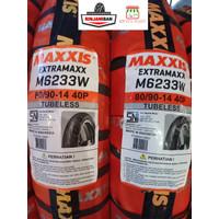 Ban Motor Maxxis EXTRAMAXX - M6233W Tubeless Rim size 14 - 80/90