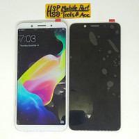LCD TOUCHSCREEN OPPO F5 ORIGINAL - Hitam Putih