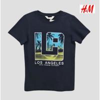 Kaos Anak Laki Laki Remaja H&M / Baju Anak HnM Size Junior 10y 12y 14y