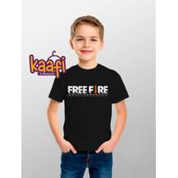 Baju Kaos Anak Laki Laki Free Fire - Battle Grounds, S