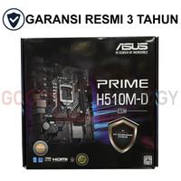 Asus PRIME H510M-D (LGA1200, H510, DDR4, USB3.2, SATA3)