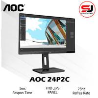 Monitor LED AOC 24P2C IPS HDMI DP USB-C 75Hz Speaker