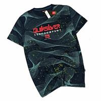 SF106 Baju Kaos Distro Quiksilver Surfing Fullprint L XL Premium murah