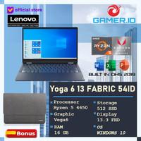 Lenovo Yoga 6 Fabric 54ID | Ryzen 5 PRO 4650U 16GB 512SSD W10 13.3FHD