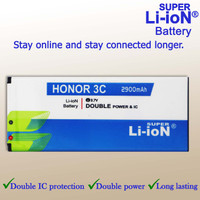 Baterai Super Li-ion Huawei Honor 3C High Quality, Long Lasting!