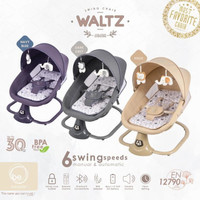 BOUNCER BABYELLE WALTZ OTOMATIS MANUAL BE6088   AYUNAN BAYI SWING