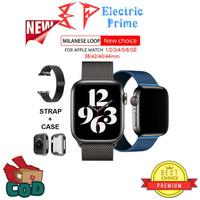 Series 5 4 3 2 1 38 40 42 44mm Milanese Loop Strap Apple iWatch & Case