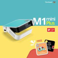 Projector ViewSonic M1 Mini Plus WiFi + Speaker JBL Garansi 2 Tahun