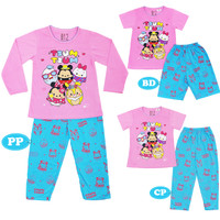 SATUAN / Piyama Anak / Baju Tidur Anak Perempuan / Hello Kitty / SPP01