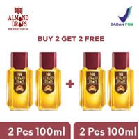 Bajaj Almond Hair Oil Drops -100ml ( BUY 2 GET 2 )