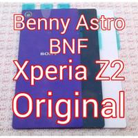 Original Back Cover - Back Door - Sony Xperia Z2 Big - D6503 - SO-03F