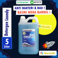 Sabun Detergen Cair Laundry Sabun Cuci Baju Liquid 5 Liter