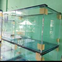 Aqurium kaca ukuran 80×40×40