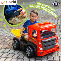 Mainan Anak Mobil Aki Truck Pasir - Mega Truck - VOLTA 5032