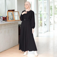 baju gamis terbaru remaja kekinian modern 2021 wanita dress abaya