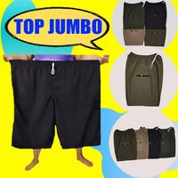 Celana Pendek Pria Tali Kolor Polos Bahan Katun Tebal Ukuran jumbo - JUMBO POLOS 5