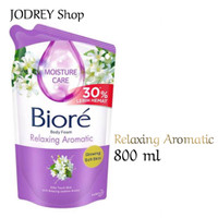 Biore Body Foam Relaxing Aromatic Sabun Mandi Cair 800 ml Refill