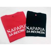 Kaos Baju Combed 30S Distro APAPUA PAPUA polos custom SA indonesia