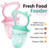 2 in 1 Dot + Teether Buah Sayuran Bayi Baby Fruit Food Feeder Empeng