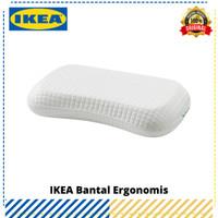 Bantal Ergonomis IKEA KLubbsporre Putih, Original IKEA
