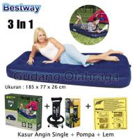 Kasur Angin Single Bestway 67000 [185cm x76cm] / Kasur Tidur Angin