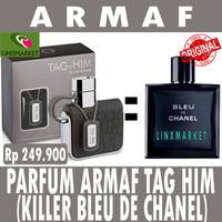ORIGINAL PARFUM ARMAF TAG HIM POUR HOMME 100ML (CLONE BLEU DE CHANEL)