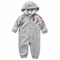 Sleepsuit Baby Carhartt Unisex | Baju Tidur Bayi 3m-24m part2 - Abu Lm, 12m