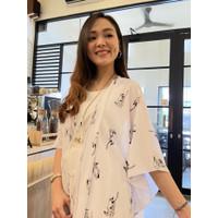 Outer Basic Motif Etnik Outwear Kardigan / Luaran / Souvenir / Kimono