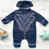 baju bayi laki laki baju muslim koko bayi peci