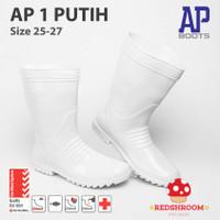 Sepatu Boot Pendek AP BOOTS AP 1 PUTIH PERAIRAN PERIKANAN - 25