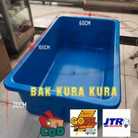 bak kura kura / kolam ikan fiberglass / aquarium ikan