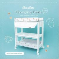 Cocolatte Changing Table Baby Tafel / Tempat Ganti Popok Bayi - White