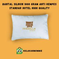 Bantal kepala Bantal hotel bantal tidur bukan bulu angsa 1000 gram