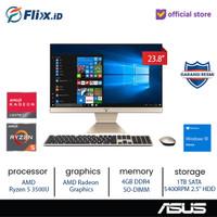 ASUS M241DAK-BA541T WA541T AIO 23.8 Ryzen 5 3500U 4GB 1TB Win10