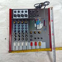 mixer rakitan asli 4 channel bloototh audio sound system echo deelay u