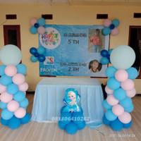 Dekorasi ulang tahun anak sederhana