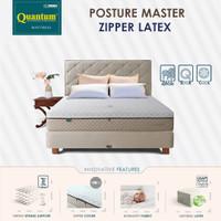 Quantum Kasur Orthopedic Posture Master Zipper Latex