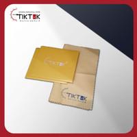 Kain Pembersih Jam Tangan/Lap Microfiber TIK-TOK Watch Repair Logo