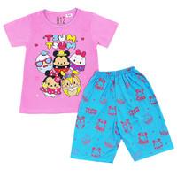 SATUAN / Piyama Anak / Baju Tidur Anak Perempuan / Hello Kitty / SPP01 - BD, Size 12