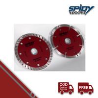 SPIDY Mata Potong Keramik 105mm Red Diamond Blade 4