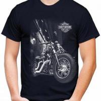 Kaos Pria MOTOR HD T-shirt Distro Baju Pria/Oblong Cowok Keren