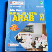 Buku Bahasa Dan Sastra ARAB untuk SMA/MA Kelas XI